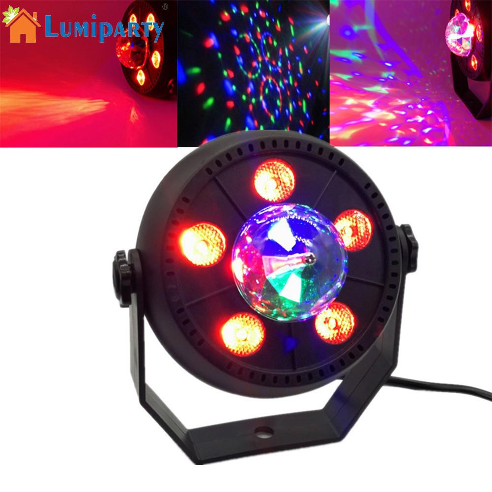 LumiParty LED Party Rotate Lamp magic ball lights par lights Karaoke Machine Strobe Dance Disco DJ