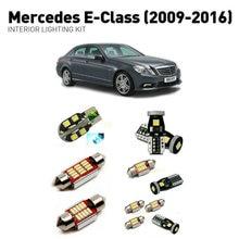 Led interior lights For mercedes e-class 2009-2016  23pc Led Lights For Cars lighting kit automotive bulbs Canbus цена