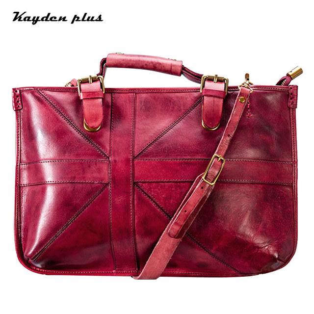 debfe0465c42 Brand Handbags Made Of Genuine Leather Briefcases Bag For Women Luxury Bags  For Men Designer Bag Bags Free Shipping Gift