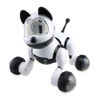 Voice Control Free Mode Sing Dance Smart Dog Robot Toy Vehicles Imulation Pet Interactive Program Dance Walk Robotic Animal Toys