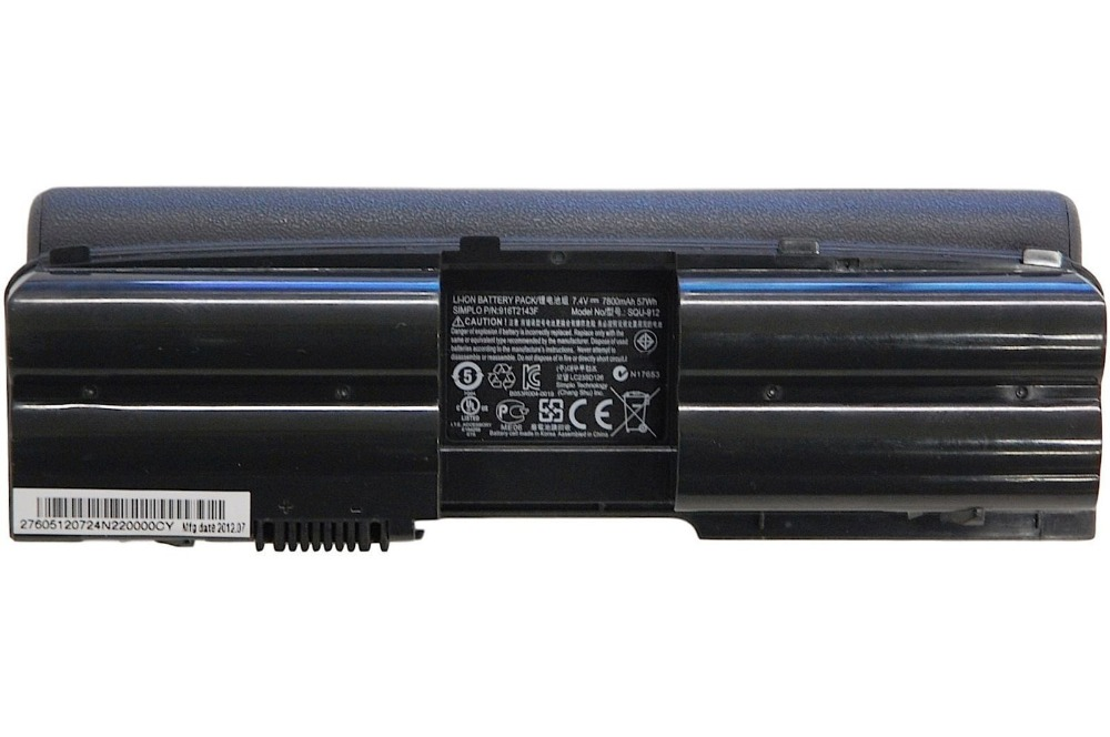 New laptop battery for HASEE SQU 912 CQB902 911600016 P/N 916T2141F 2Go Convertible Classmate PC NL2