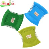 OhBabyKa Washable Male Dog Belly Bands Toilet Training Diapers Sanitary Underwear Durable Male Dog Wraps Size