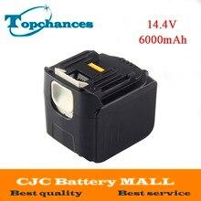 High Quality Newest 6000mAh 14 4V Li ion Power Tool Battery for Makita Drills 194065 3