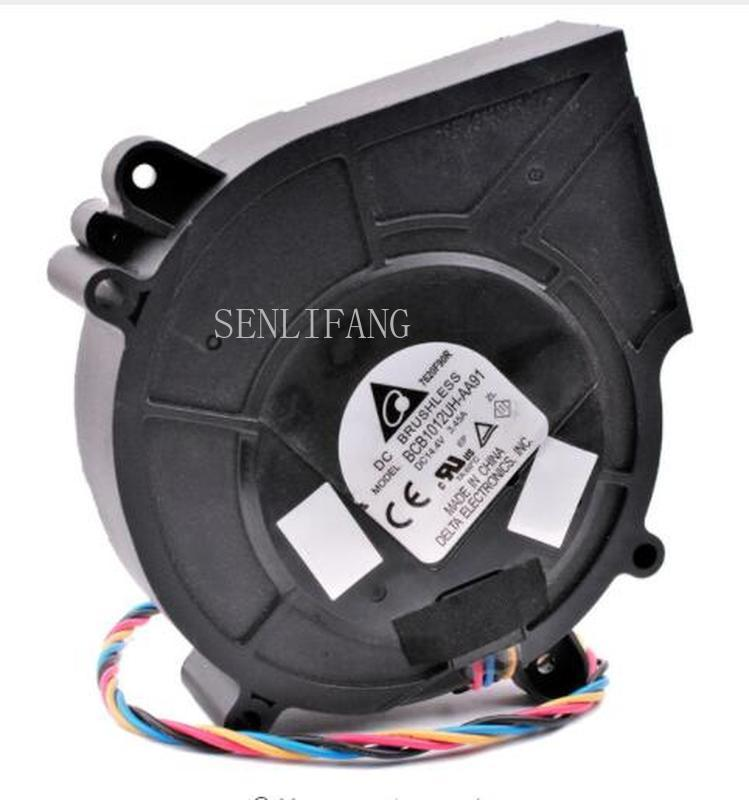 Free Shipping For Brand New Original  BCB1012UH-AA91 97x94x25mm 9725 DC14.4V 3.45A Centrifugal Turbine Blower Cooling Fan