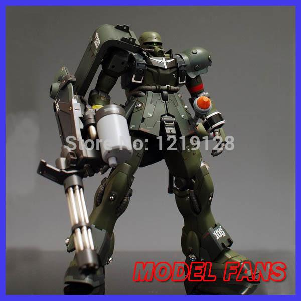 FÃS MODELO DABAN modelo Gundam montagem HG UC 1:144 GEARA ZULU Frete grátis