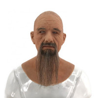 2019 Party Cosplay Costume Old Man Mak Mask Silicone Crossresser Head Mask