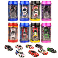 Coke Can Mini Speed RC Car Radio Remote Control Micro Racing Car Power Cars Toy Gift Cans Controle Remoto Electric Toy