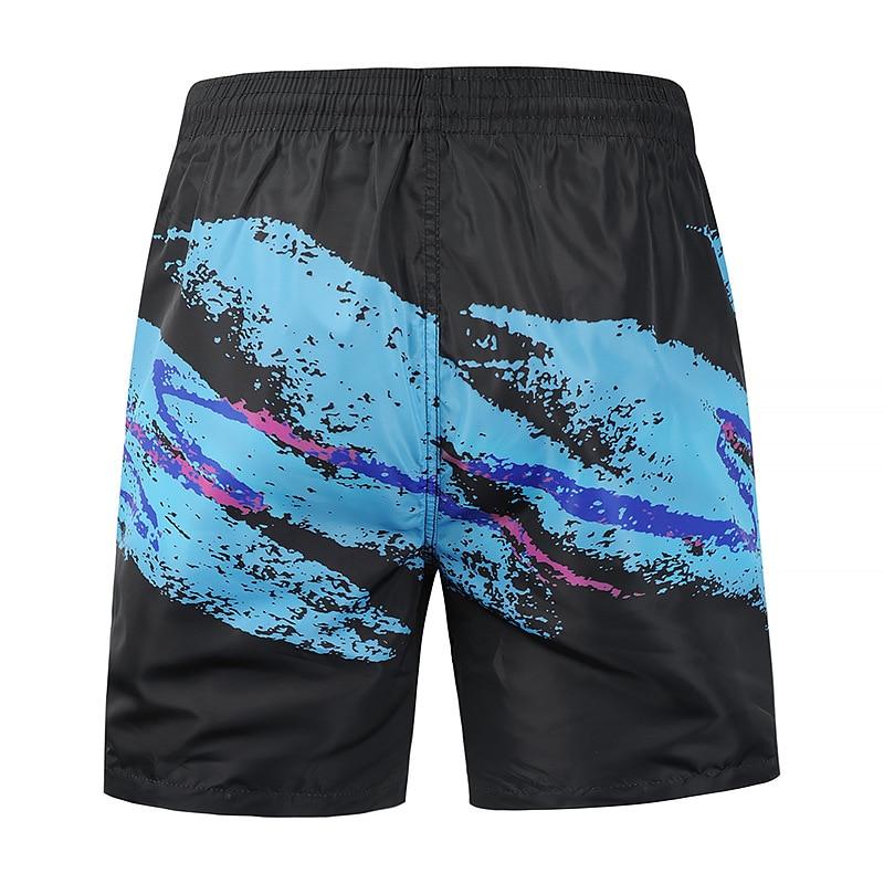 Shorts Swimsuit Beachwear Boxer Thin-Boardshort Plus-Size Nylon Men for Light