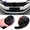 Universal Car Front/ Rear/Side Skirt Bumper Lip Rubber Protector  For Ford Focus 2 3 Kuga Ecosport Edge Mondeo Fiesta Any Car