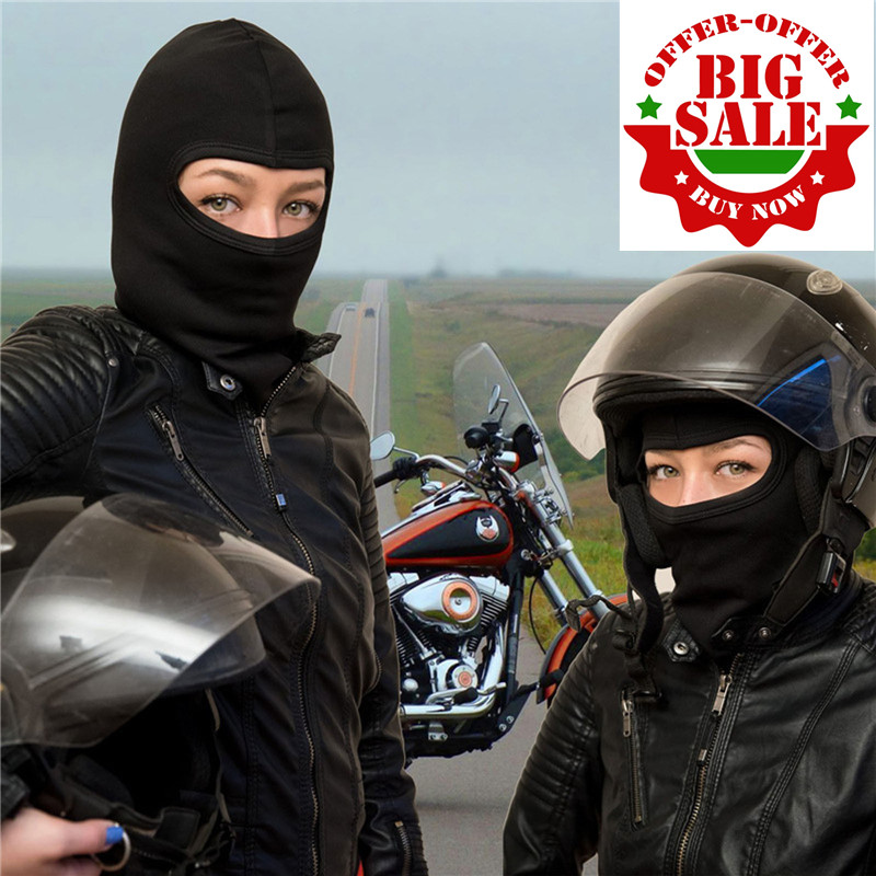 On sale Factory price Black Motorcycle Protection Full Face Mask