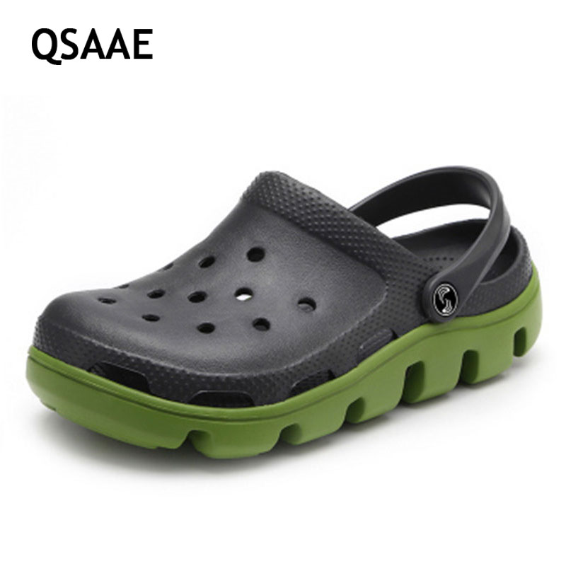 New women sandals men hole slippers couple sandals mules and clogs garden shoes for men women
