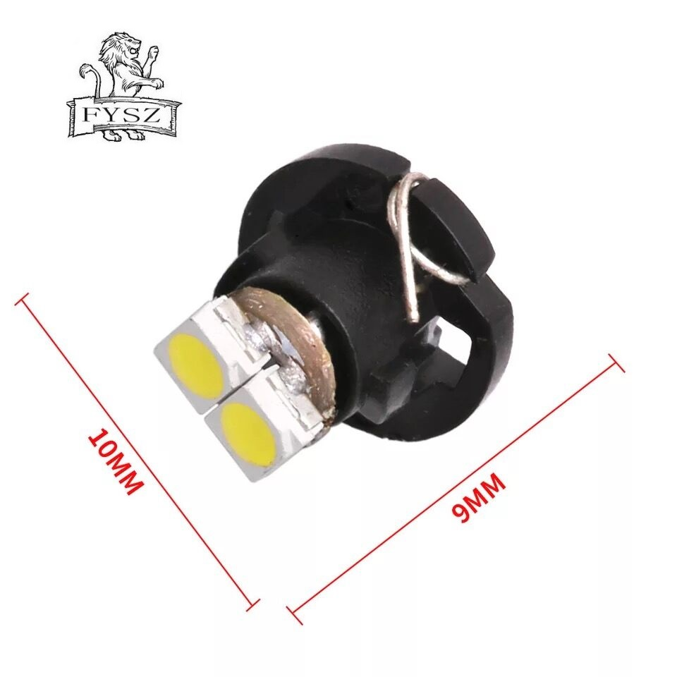 Image 3 - 10Pcs T3 T4.2 LED 3030 SMD Car Cluster Gauges Dashboard White Ice Blue Red Pink Green Red Instruments Panel Light Neo Wedge Bulb-in Signal Lamp from Automobiles & Motorcycles