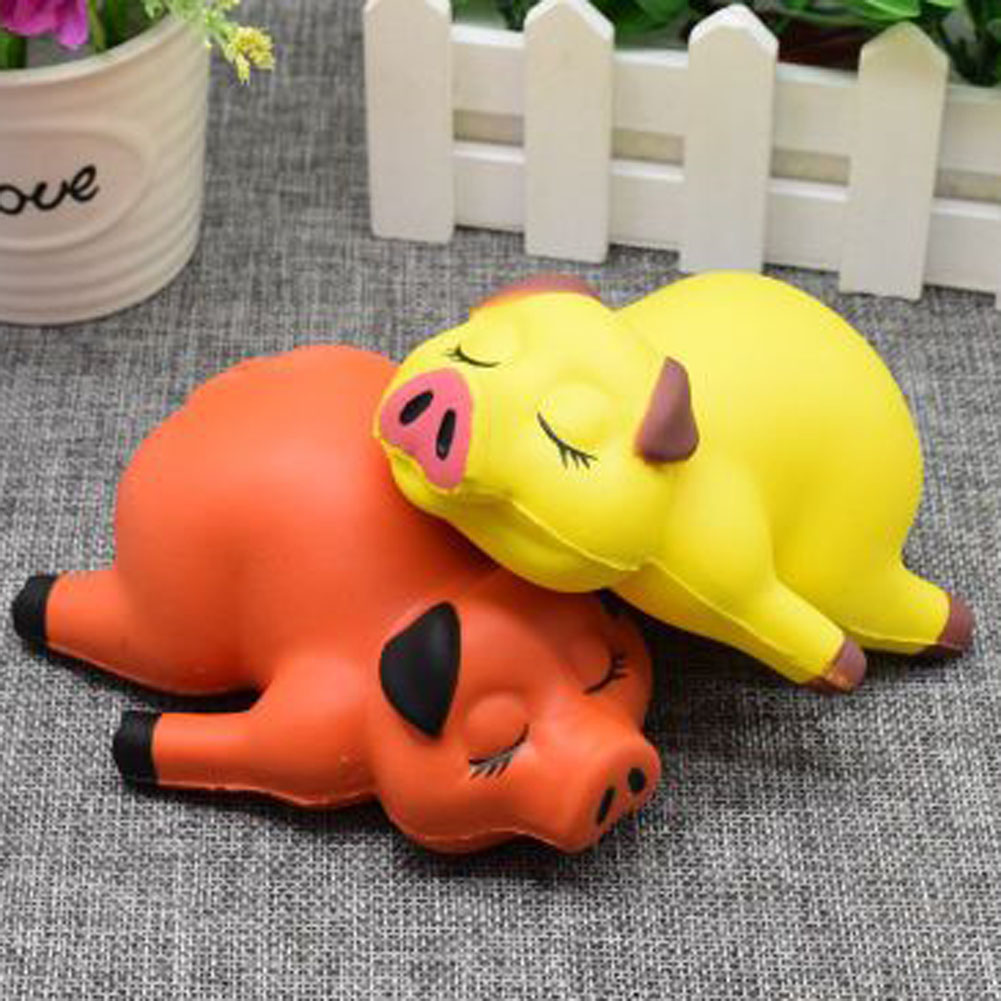 Pig Slow Rising Kids Toy Cute Novelty Fun Stresses Reliever Toys Christmas Antistress gifts