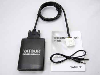 Yatour Car Audio for Mazda 2 3 6 RX8 CX7 MPV Tribute Digital Music changer MP3 USB SD AUX Stereo Adapter Ytm06 yatour car mp3 usb sd cd changer for ipod aux with optional bluetooth for toyota 4runner tundra avalon avensis camry corolla
