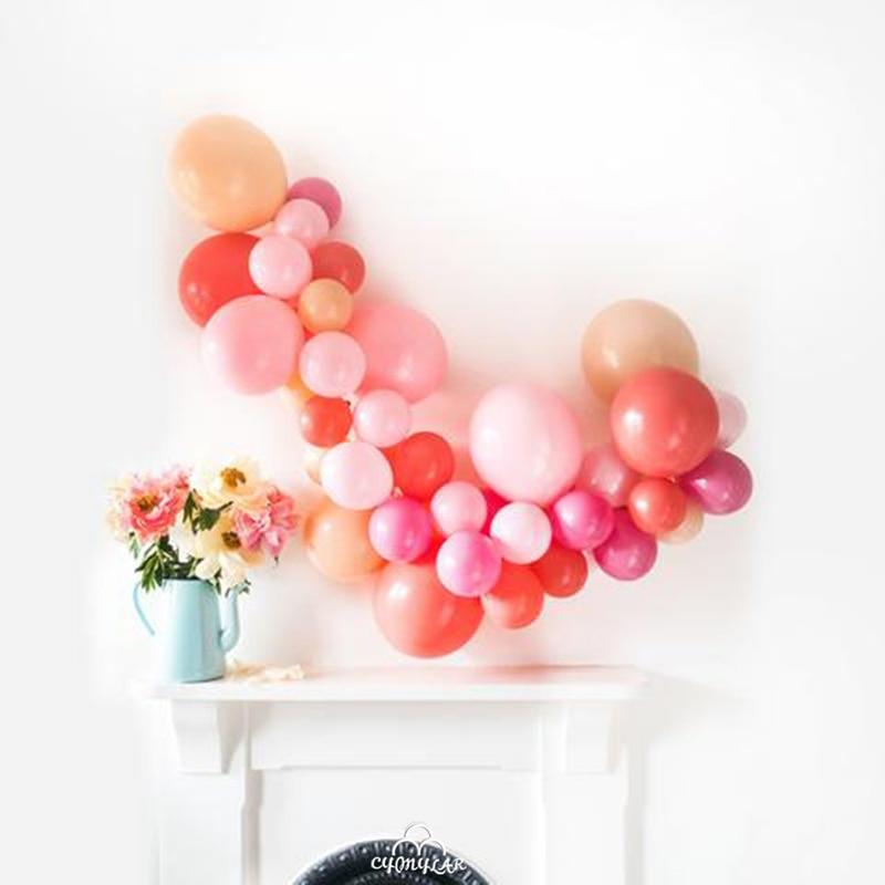 Coral balloon Garland