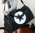 Casual Fashion Women Travel Bags  Large Capacity Shoulder Bags Nylon Zipper Weekend Travel Portable Bags Luggage Duffel Bags