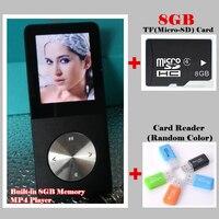 Sport Music HIFI MP3 MP4 Player 100% Built-in 8GB Memory 1.8