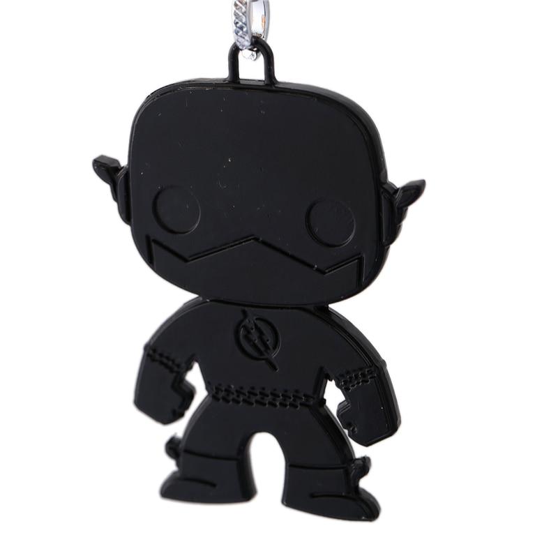 J Store for Flash Cartoon Super Hero Zinc Alloy Keychain Կանանց - Նորաձև զարդեր - Լուսանկար 4