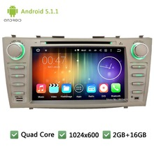 Quad core WIFI DAB+ Android 5.1.1 2Din 8″ 1024*600 Car DVD Player Radio Stereo PC Audio Screen GPS For  TOYOTA CAMRY 2007-2011