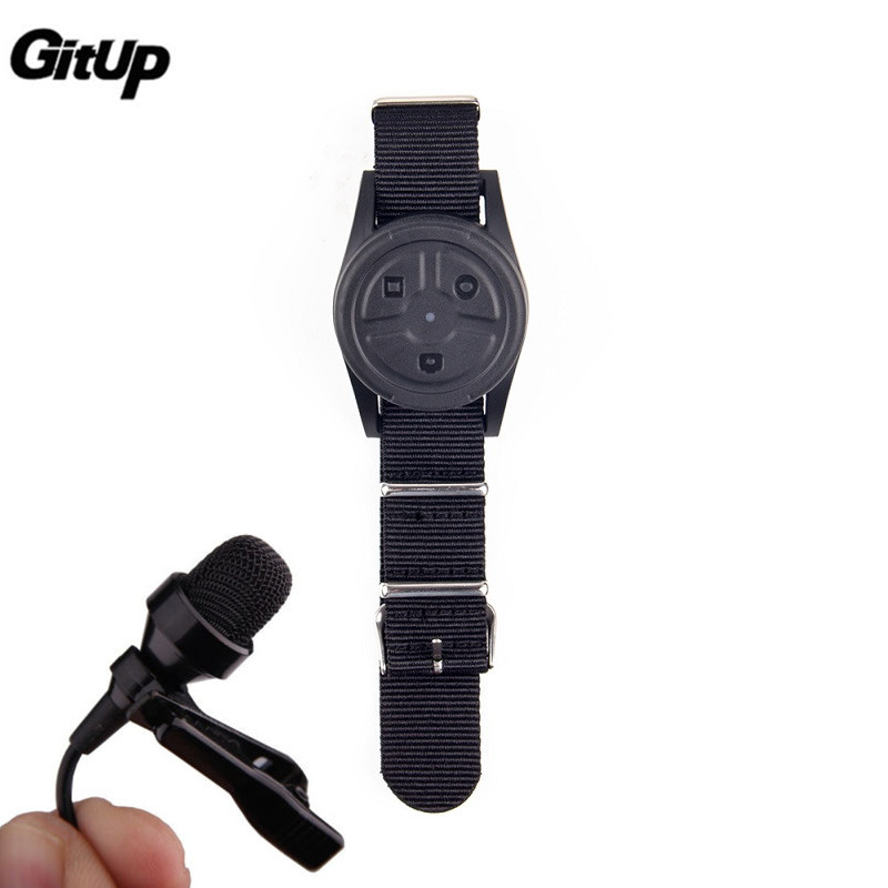 GitUP Original Remote Control + External Microphone for G3 Duo Sports Action Camera Accessories