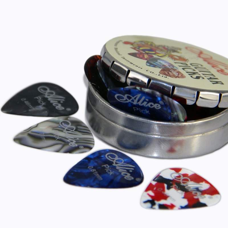 Electric Bass Guitar Picks 12pcs of Alice Picks in one box Acoustic Folk & Classical Guitar Plectrums