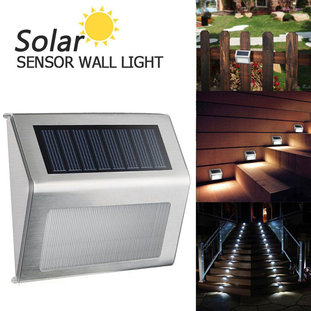 Solar Light Motion Sensor Fence Lamps