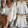 EABY European Sexy Leisure Time Fashion Easy Lace Jacket T Pity Shirt