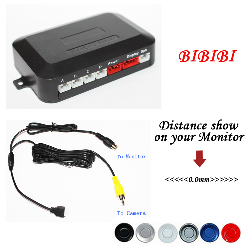 Dual Core CPU Car Parking Assistance Sensor Reversing Radar Video all-in-one System Connect Car DVD Monitor And Rearview Camera