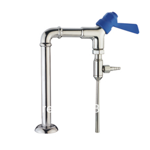 Stainless steel Single port laboratory water tap