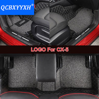 Car Floor Mat 3D Leather Car Styling All Leather Tray Carpet Cargo Liner Custom Fit Car