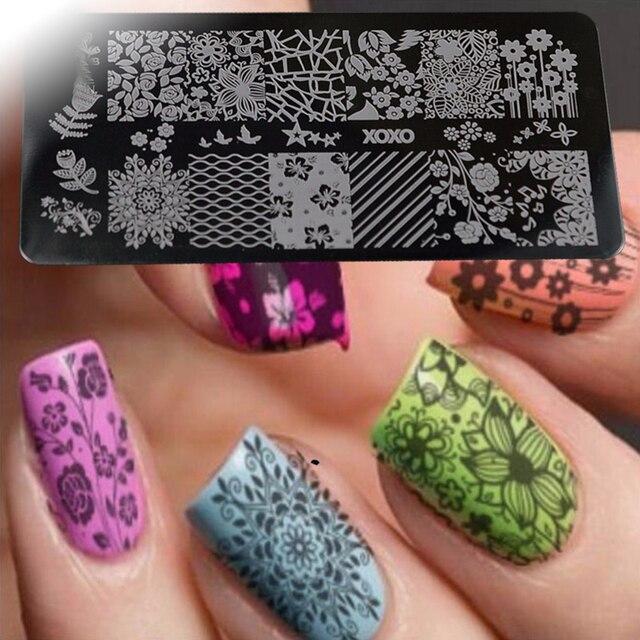 Aliexpress Buy Nail Salon 1pc Diy Nail Art Image Beautiful