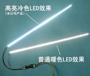 Image 3 - Ücretsiz teslimat. Ürün 15 ila 24 inç evrensel LCD LED ışıkları değişiyor LCD LED yükseltme kiti ayarlanabilir parlaklık 540 mm