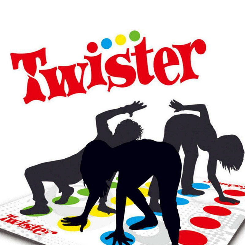 Outdoor Sport Toy Gift Twister Game Funny Kid Family Body Twister Move Mat Board Game Sport Toy