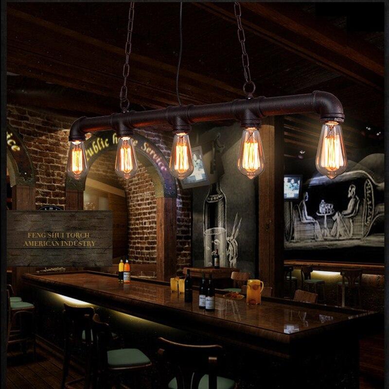 Loft Vintage Edison Pendant Lights Personalized Bar Lighting ...
