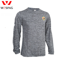 Wesing Mężczyźni Kobiety Tkaniny Oddychające Sportowe Garnitury dla Sportowców Sportowców Sanda trener T-shirt