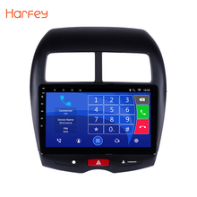 Harfey 2din 10.1″ Android6.0/7.1 GPS Car Multimedia Player For 2010-2015 Peugeot 4008 Mitsubishi ASX 2012 CITROEN C4