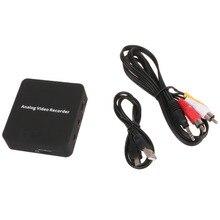 Ezcap272 AV 캡처 아날로그 디지털 비디오 레코더 컨버터, 오디오 비디오 입력 AV HDMI 출력, MicroSD TF 카드