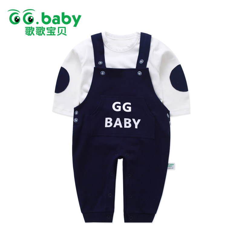 Winter Suspender Pants White TShirt Cotton Newborn Infant Baby Boys Set Clothes Baby Girl Outfits Boy Suit Outfit Clothing Sets 2017 new boys clothing set camouflage 3 9t boy sports suits kids clothes suit cotton boys tracksuit teenage costume long sleeve