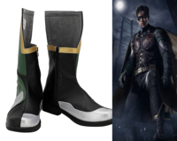 Movie Titans Richard Grayson Robin Cosplay Shoes Batman Robin Shoes Boots Halloween Party Cosplay European Size