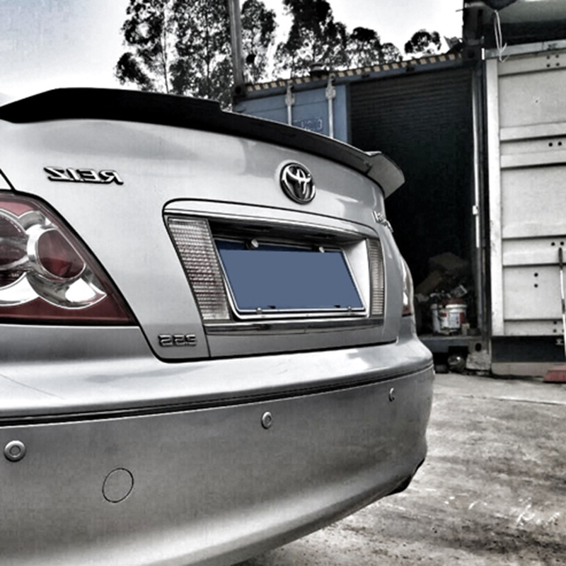 Mark X Reiz ABS Plastic Unpainted Primer Rear Wing Lip Spoiler for ToyotaMark X with color2005