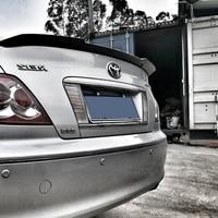 Mark X Reiz ABS Plástico Sem Pintura Primer Asa Traseira Lip Spoiler para ToyotaMark X com color2005 2011|Spoilers e aerofólios| |  -