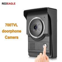 REDEAGLE 80 grados 700TVL HD Color puerta teléfono Cámara unidad para el hogar Video portero intercomunicador Sistema de Control de Acceso