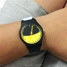 Original brand fashion women man batman color wristwatch for lady dress gift watch with japan movement