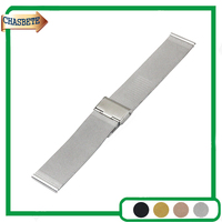 Milanese Stainless Steel Watch Band For Bell Ross Watchband 18mm 20mm 22mm 24mm Men Women Metal