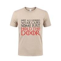 الأزياء 2017 الرجال القمصان ليس جميع أبطال ارتداء الرؤوس عقد الباب شخصية الذكور القطن تي شيرت فينورد ريك y morty