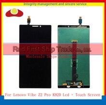 "2560 * 1440 de la alta calidad 6.0 "" para Lenovo Vibe Z2 Pro K920 Lcd conjunto completo + pantalla táctil digitalizador del Sensor"