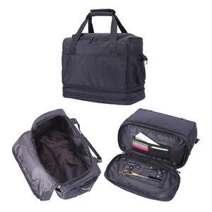 Image 5 - Friseur Werkzeug Tasche Salon Haar Werkzeuge Schulter Tasche Große Kapazität Haar Stylist Kosmetische Liefert Zubehör Handtasche