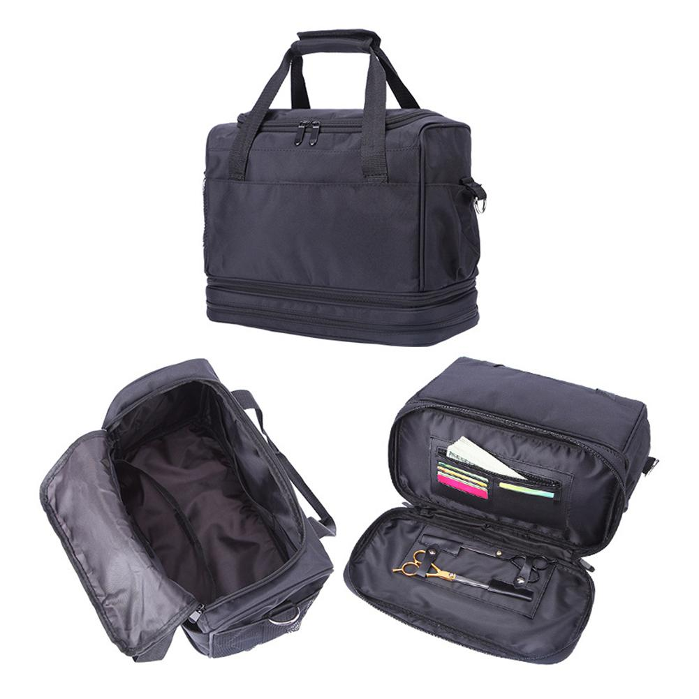Image 5 - Professional Hairdressing Tool Bag Salon Hair Tools Shoulder Bag Large Capacity Hair Stylist Cosmetic Supplies Accessory Handbag-in Styling Accessories from Beauty & Health