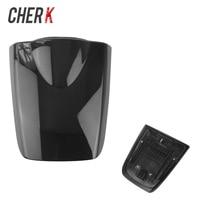 Cherk Black Motorcycle Rear Solo Seat Passenger Pillion Seat Cowl Fairing Cover For 2003 2004 2005 2006 Honda CBR 600 RR