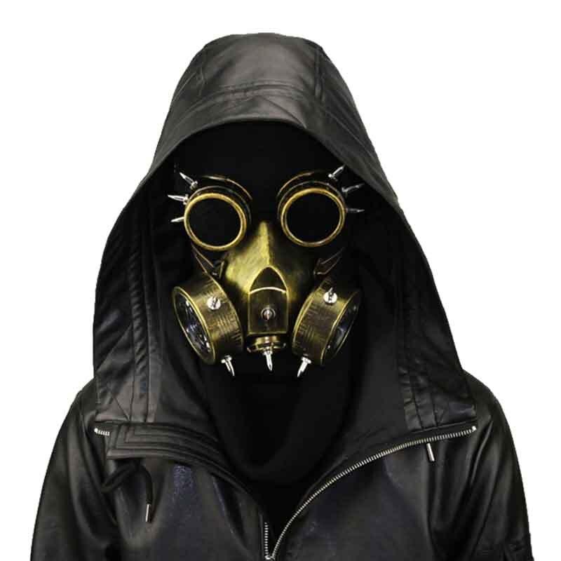 Neuheiten Und Spezialanwendung Herrenkostüme Symbol Der Marke Steampunk Brille Gas Masken Brille Cosplay Requisiten Gothic Anti-dunst Männer Und Frauen Maske GroßEs Sortiment